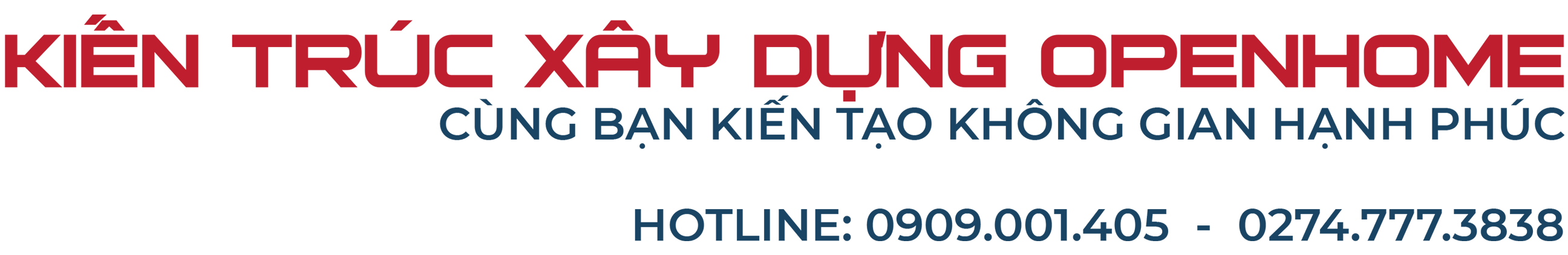 XÂY DỰNG OPENHOME