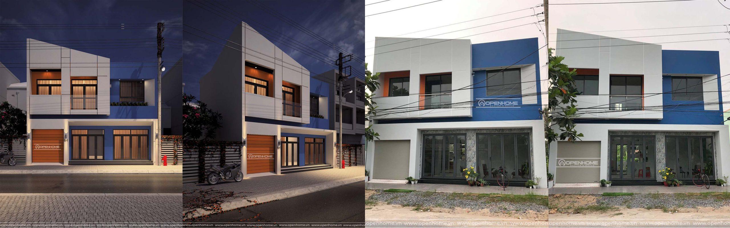 xây dựng nhà phố bình dương